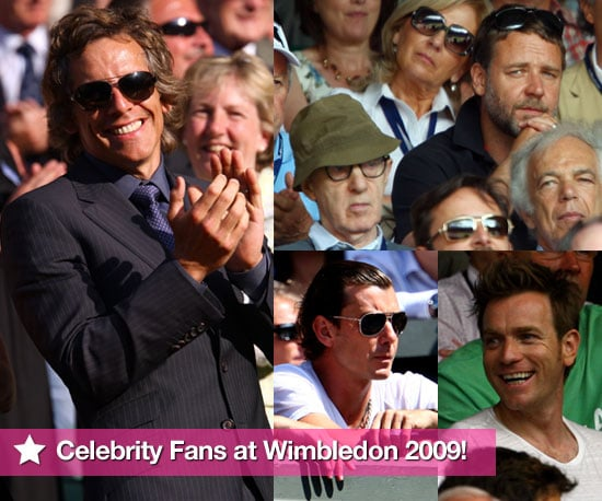 Photo Slideshow of Celebrities at Wimbledon 2009 Including Justin Timberlake, Chace Crawford, Kate Winslet, Gavin Rossdale