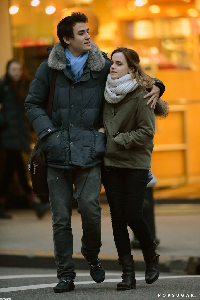 Emma Watson and Will Adamowicz went for a walk in NYC.