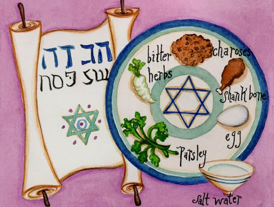 Come Party With Me: Passover - Menu (Dessert)