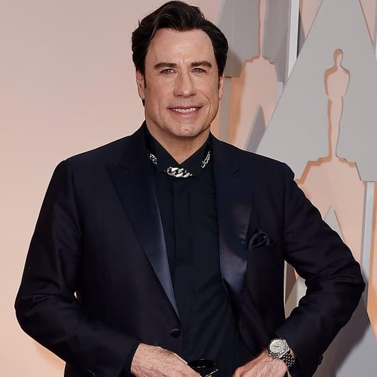 John Travolta and Benedict Cumberbatch Meme From 2015 Oscars