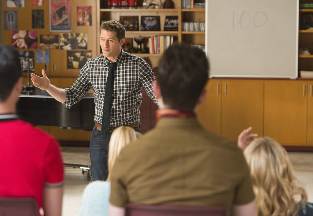 Will (Matthew Morrison) explains the lesson of the week: celebrating the true meaning of the glee club.