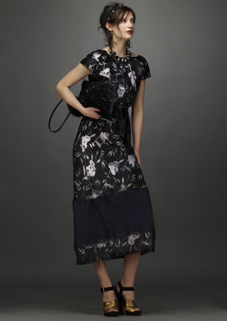Florals for night look ultrachic! Source: Marni