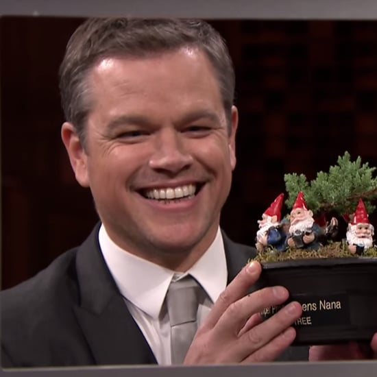 Matt Damon Plays Box of Lies on The Tonight Show 2016