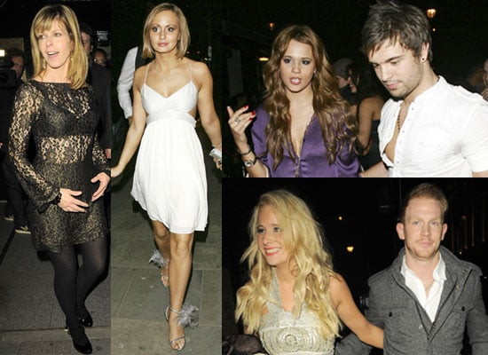 Photos of Chanelle Hayes, Kate Garraway, Naomi Millbank-Smith, Dale Howard, Rex Newmark, Nicole Cammack at Embassy 7th Birthday