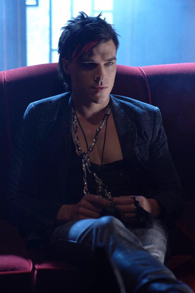 Wittrock as Tristan in Hotel