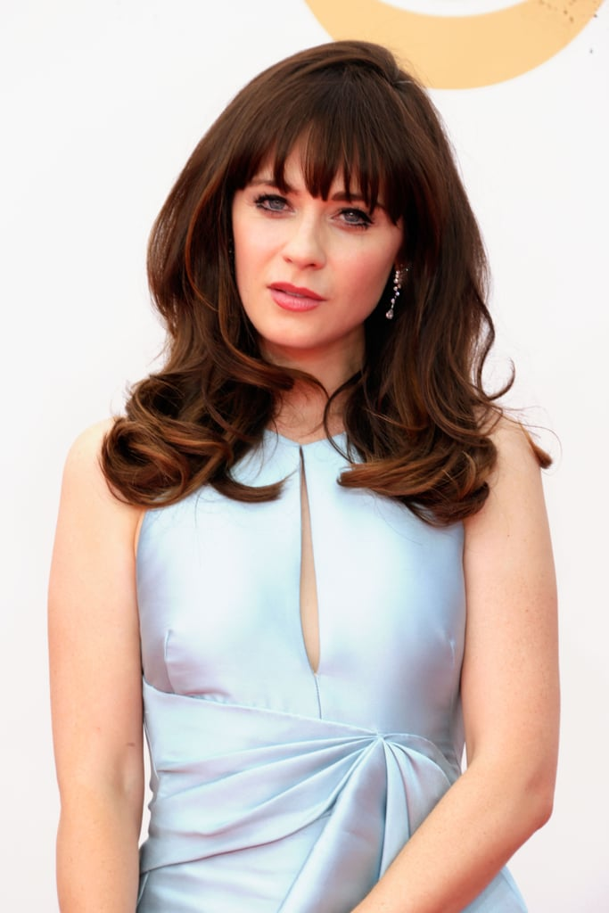 Zooey Deschanel Makes the Emmys a Family Affair