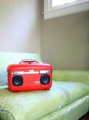 BoomCase Suitcase Speakers