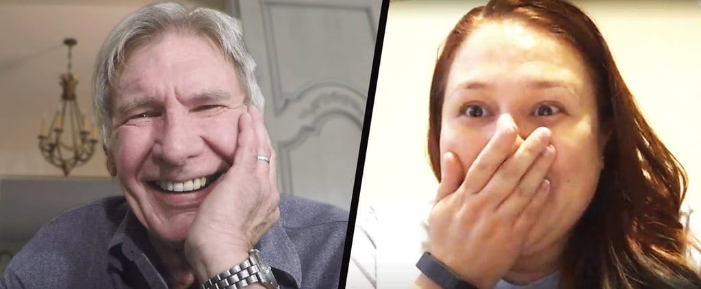 Harrison Ford Surprises Star Wars Fans, and They Completely Lose It