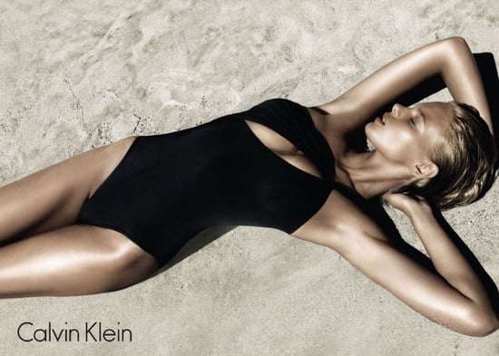 Swim Suit Hotness C/o Calvin Klein's S/S 2011 Swimwear Campaign, starring Marloes Horst