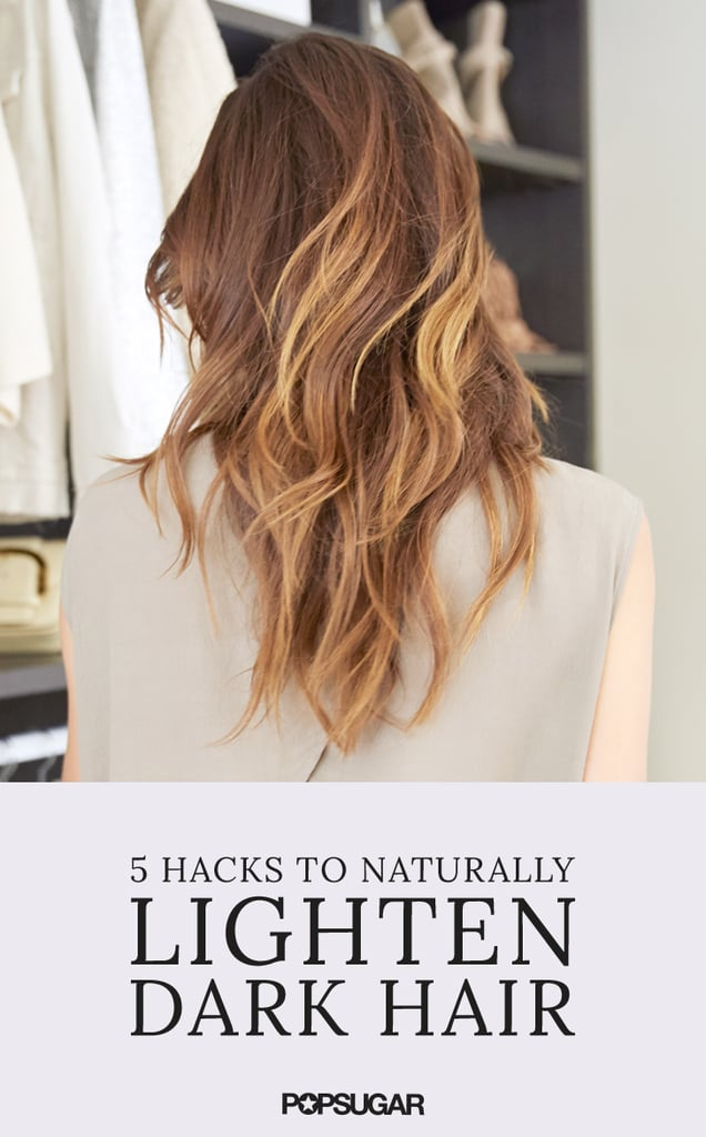 How To Lighten Dark Brown Hair Naturally