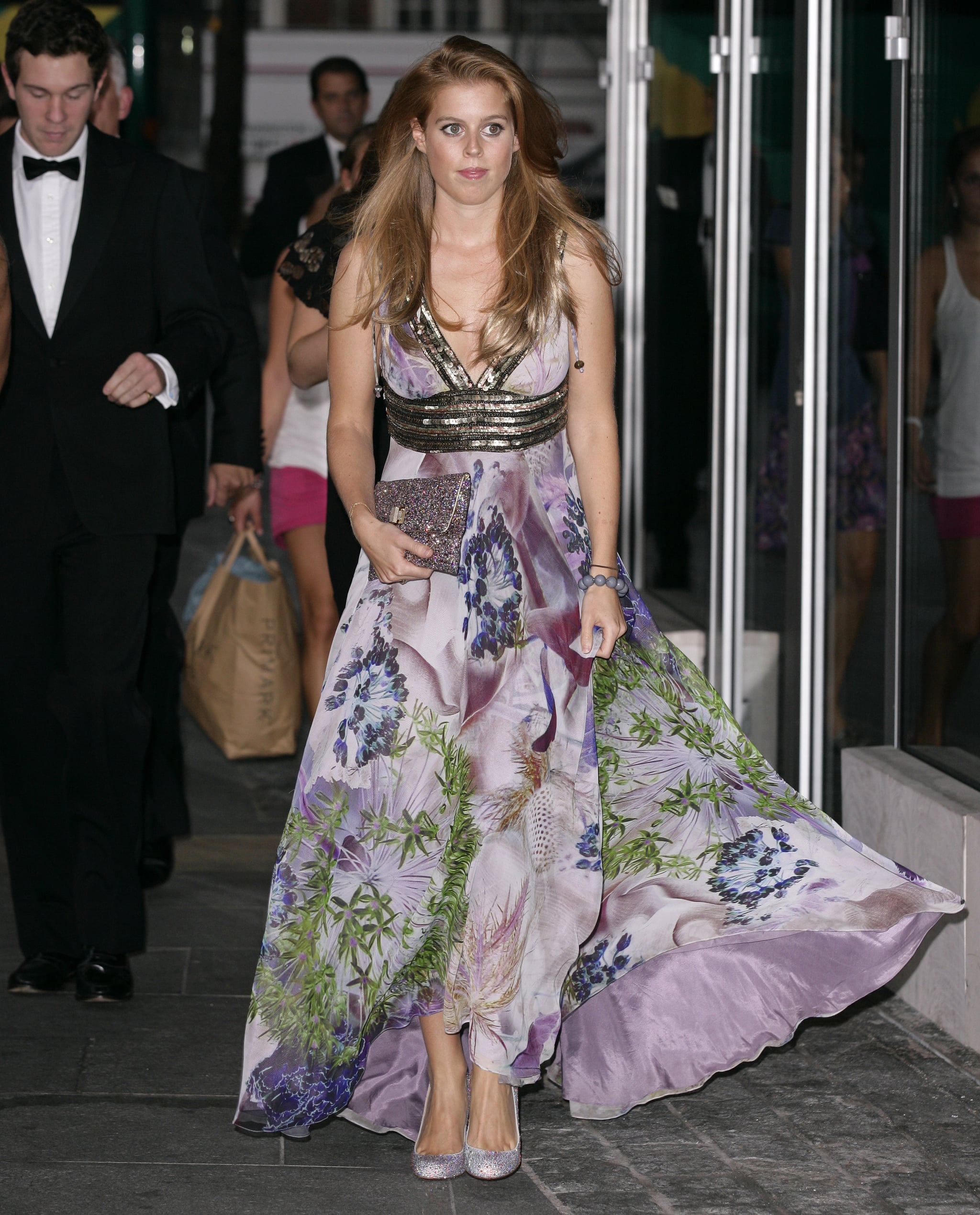 Princess Beatrice heads to London's Boxing Ball.