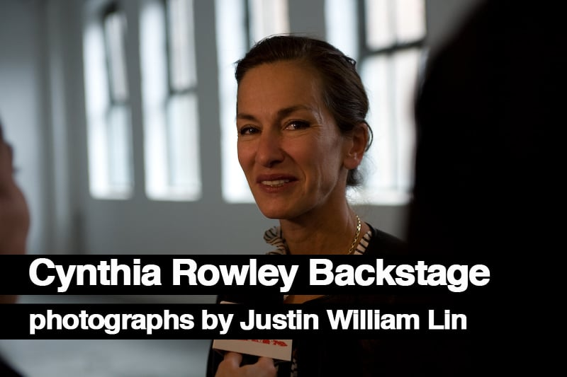 Backstage At Cynthia Rowley, Photographs by Justin William Lin