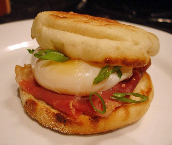 Recipe For Poached Egg and Prosciutto Sandwich 2009-06-24 12:53:58