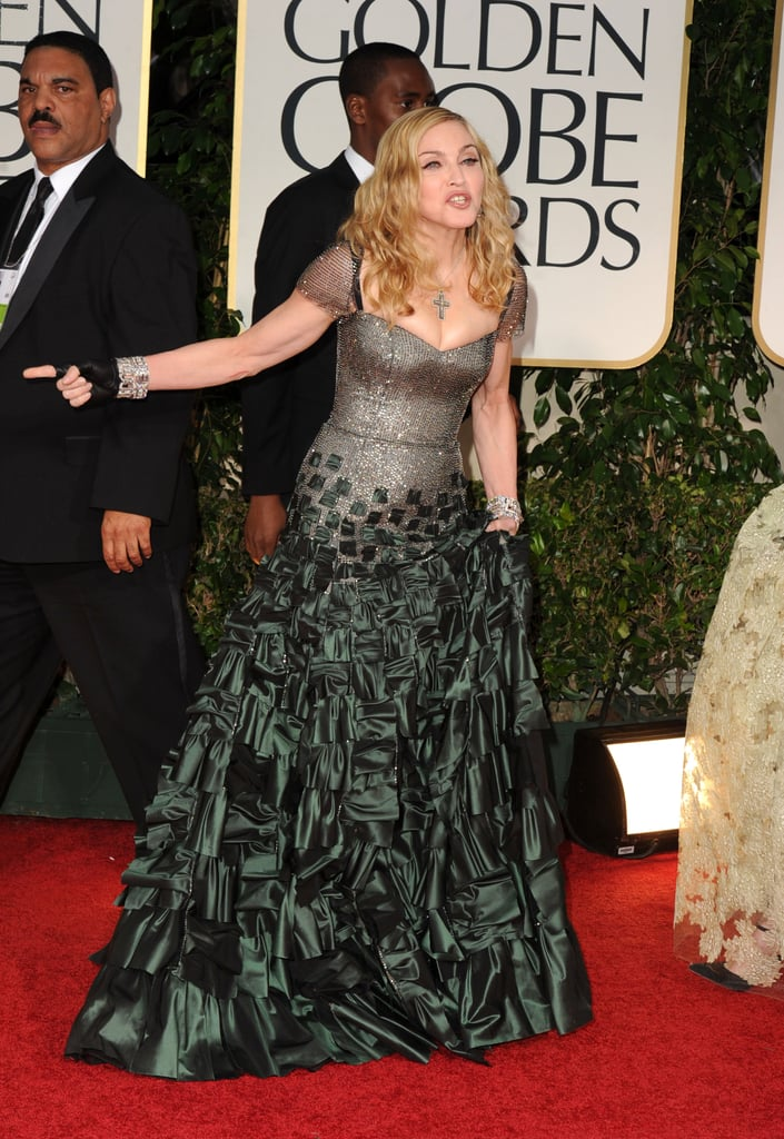 Madonna was on the red carpet in LA.