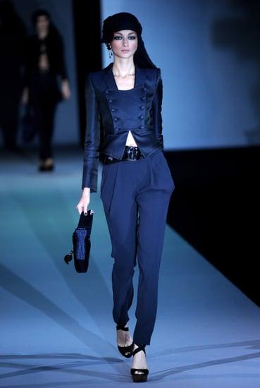 Spring 2011 Milan Fashion Week: Giorgio Armani
