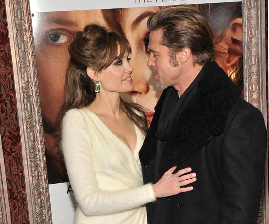 Slide Picture of Brad Pitt and Angelina Jolie and The Tourist Premiere