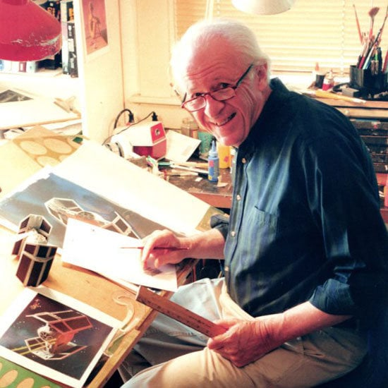 Ralph McQuarrie, artist, and the first person hired by George Lucas to conceptualize the Star Wars universe, passed away this weekend at age 82. Ralph also created the concept art for other famous adventure films, including Back to the Future, Raiders of the Lost Ark, and E.T. the Extra-Terrestrial. See a few of his most memorable Star Wars paintings brought to life in this gallery.  Source: Ralph McQuarrie Facebook
