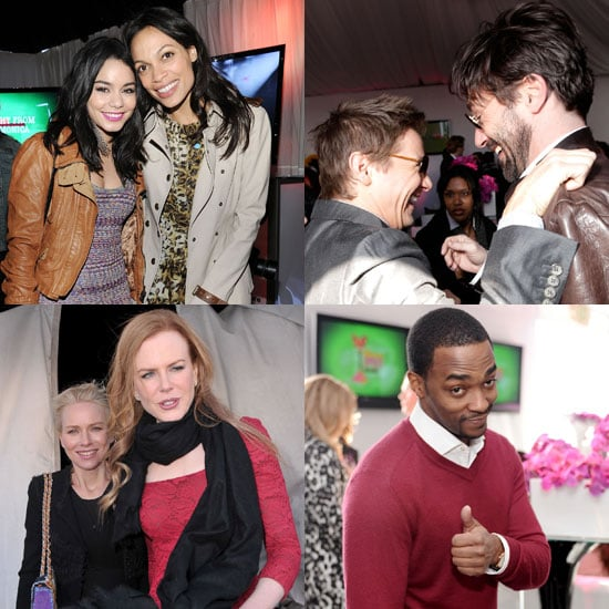Pictures of Jon Hamm, Jeremy Renner, Naomi Watts, and Nicole Kidman Backstage at 2011 Spirit Awards