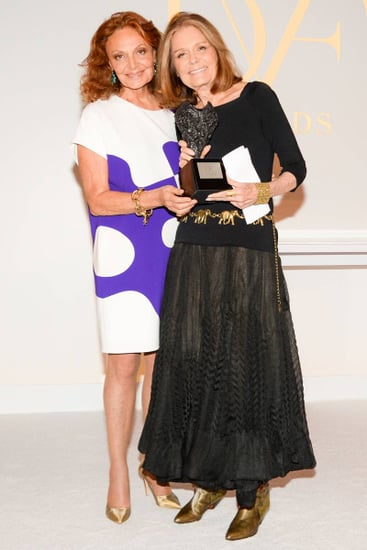 Gloria Steinem Received the DVF Lifetime Achievement Award