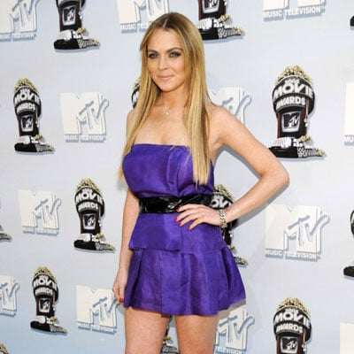 Lindsay Lohan at the 2008 MTV Movie Awards