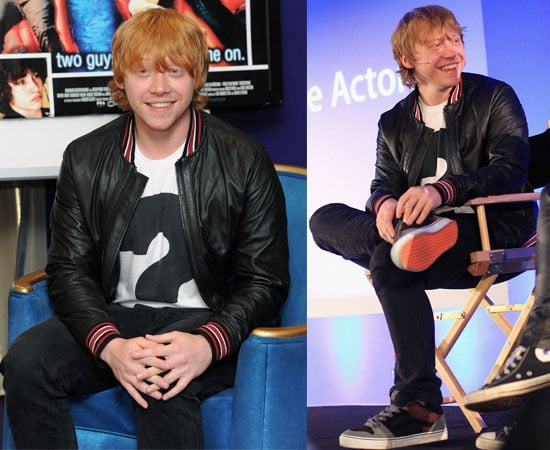 Pictures of Birthday Boy Rupert Grint Chats About Cherrybomb In London
