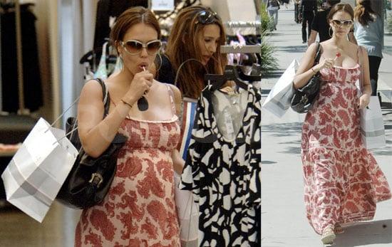 Jessica Alba's Sweet Shopping Spree