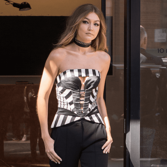 Gigi Hadid's Outfit on Jimmy Fallon May 2016