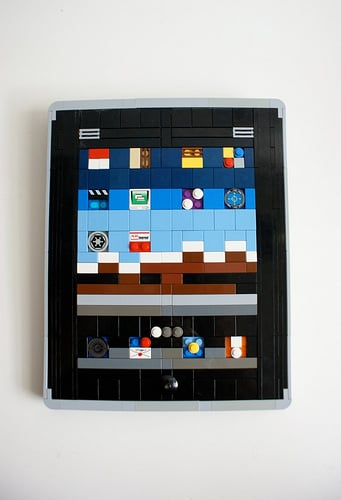 Photos of the LEGO iPad