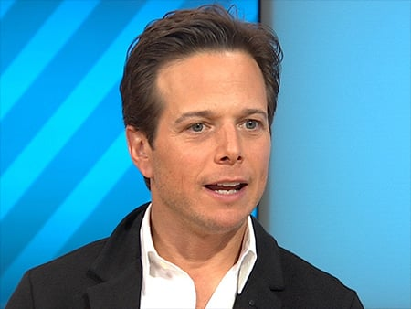 WATCH: Was Scott Wolf Able to Resist 'Flashdancing' in Front of Jennifer Beals?