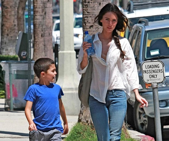 Slide Picture of Megan Fox With Kassius Green in LA