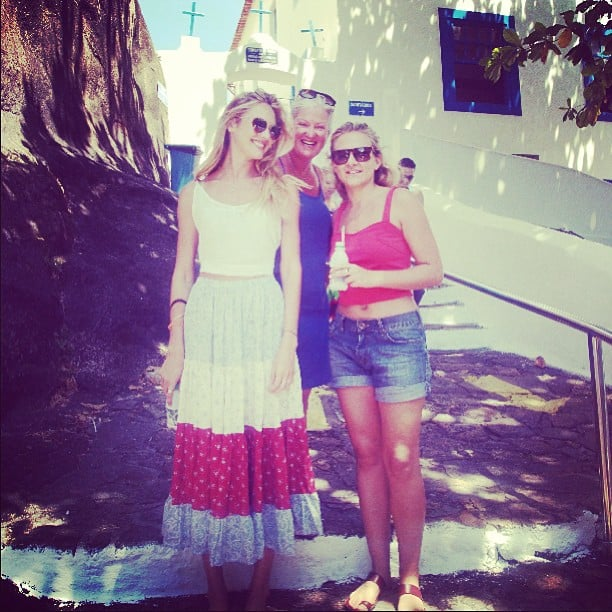 Candice Swanepoel spent time with her family in Brazil. Source: Instagram user angelcandices