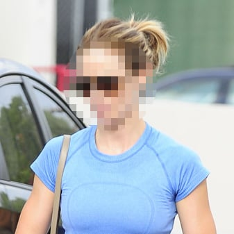 Actress Leaving Gym in West Hollywood