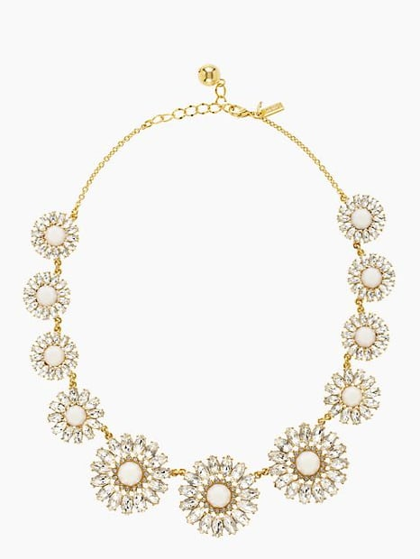 Kate Spade New York Estate Garden Rhinestone Necklace ($99, originally $198)