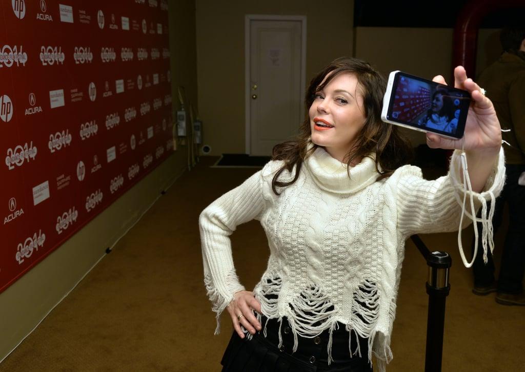 A Selfie at Sundance