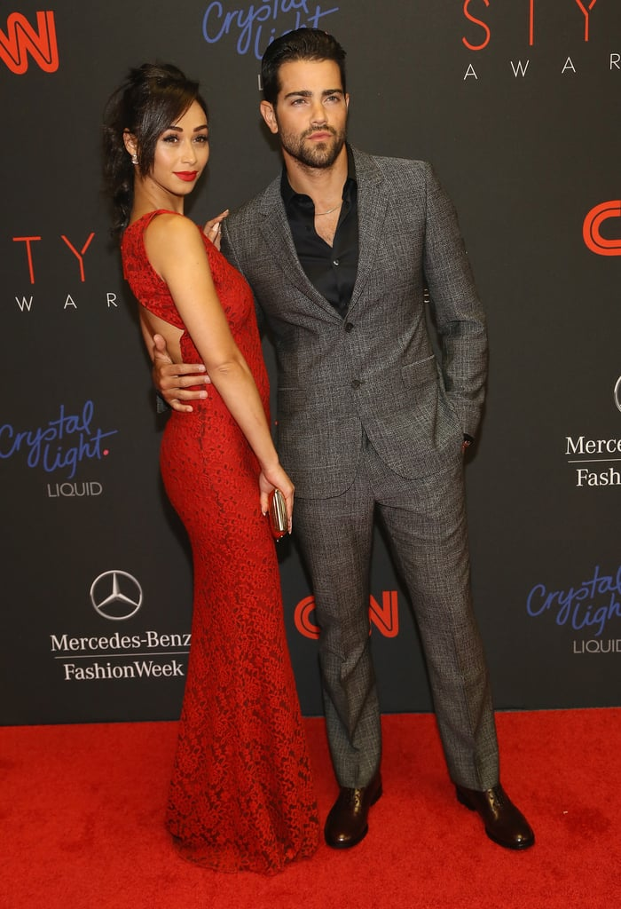 Jesse Metcalfe and Cara Santana posed together.