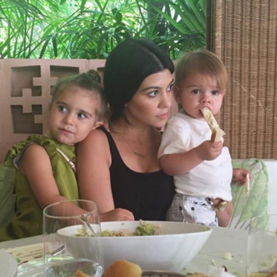 Kourtney Kardashian's Cutest Family Photos