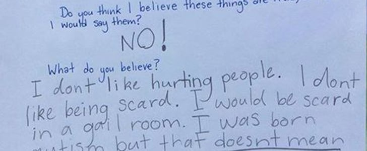 """The Heartbreaking Reason a Young Girl Thought Having Autism Made Her """"Bad"""""""