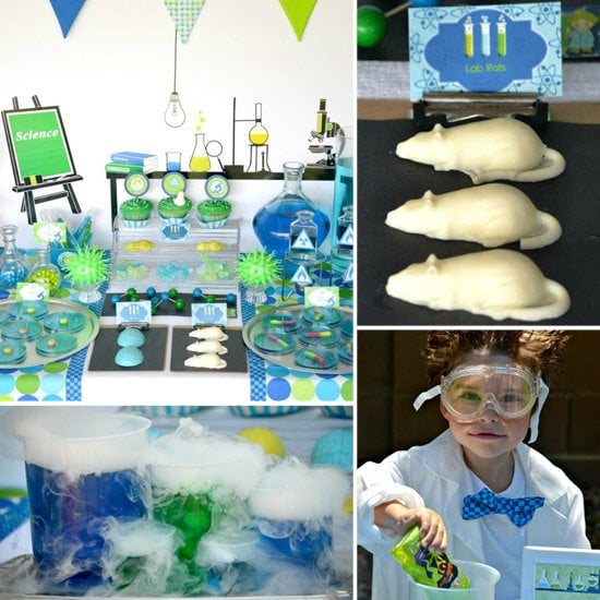 A Mad-Scientist Birthday Party