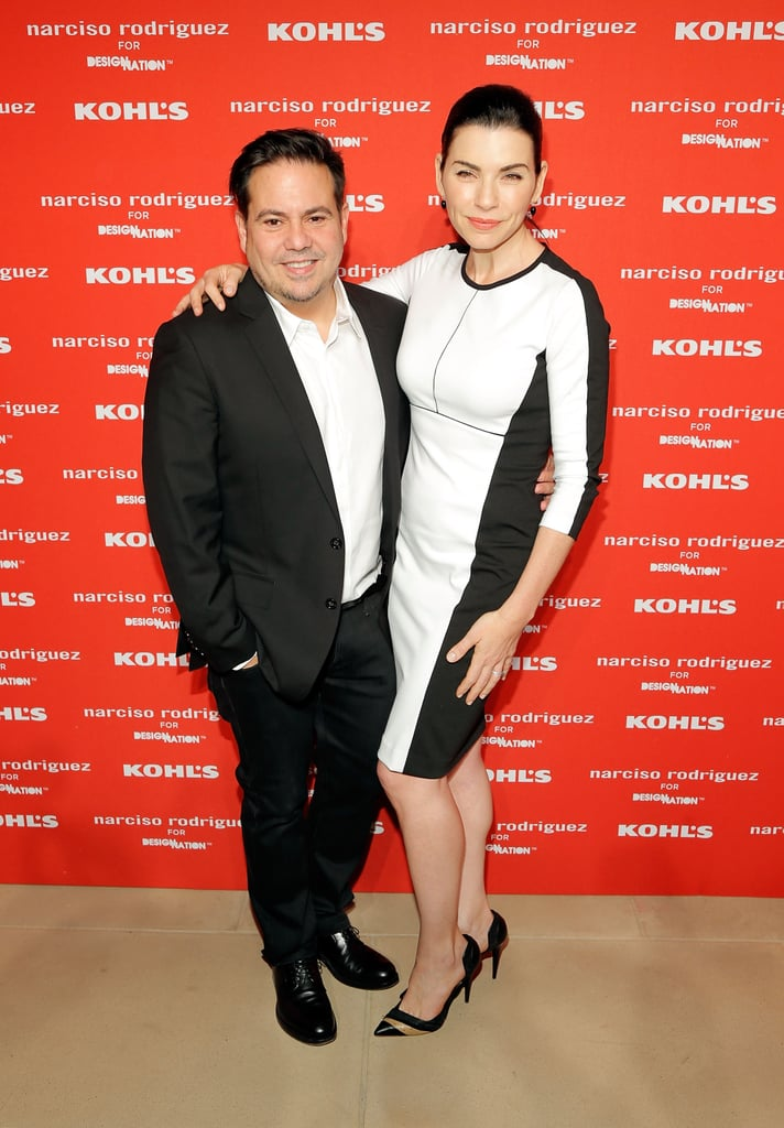 Julianna Margulies supported pal Narciso Rodriguez at his Kohl's collection launch party in NYC.