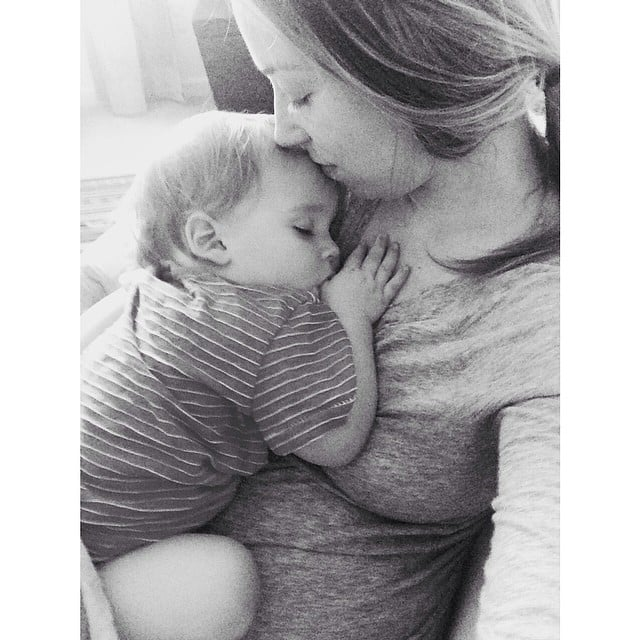 """""""The bond with your baby. Its a bond your baby will share with no other."""" — Amy Source: Instagram user susannamcmillan"""