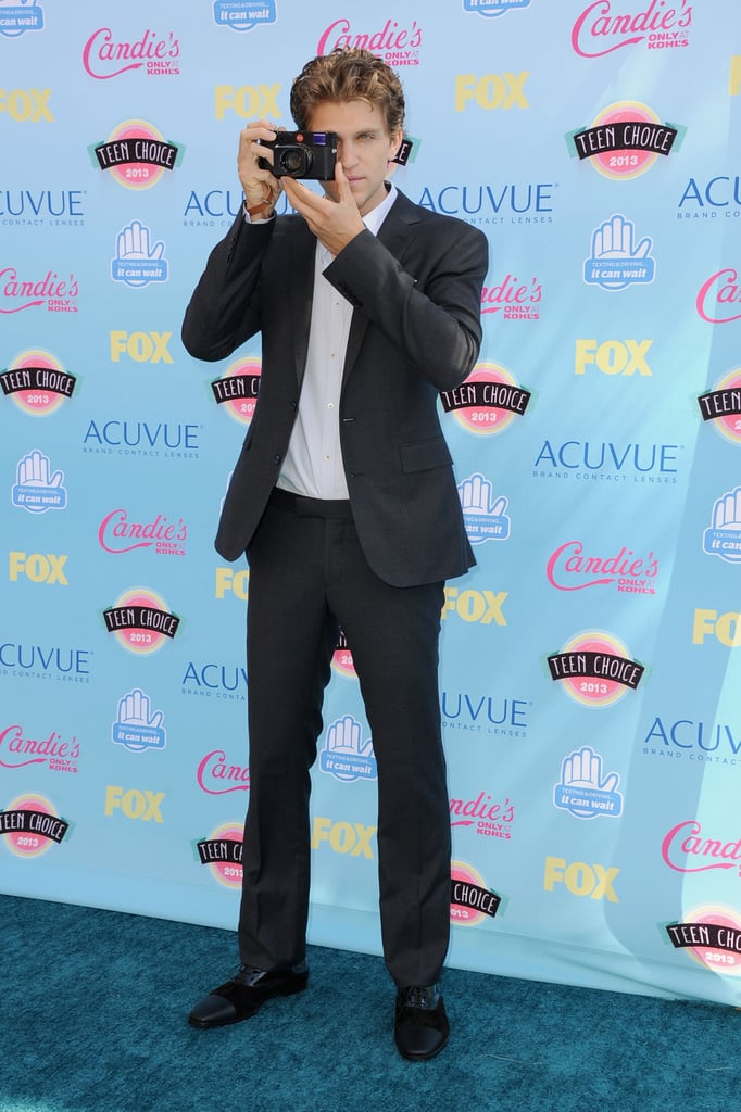 Keegan Allen attended the 2013 Teen Choice Awards.