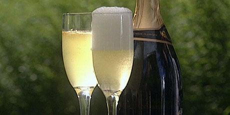 Happy Hour: Kumquat Champagne Cocktail