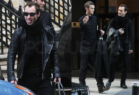 Photos of Jude Law in NYC As Woman Prepare Tell-All