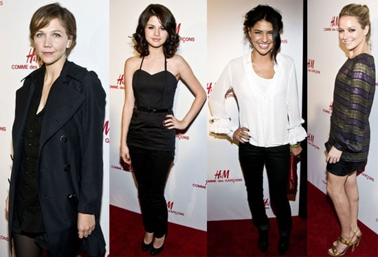 Photos of Comme des Garcons for H&M Preview Event Including Selena Gomez, Becki Newton, Jessica Schzor