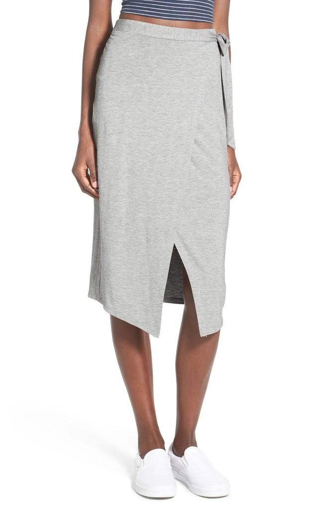 H.i.p. Knit Wrap Skirt ($36)