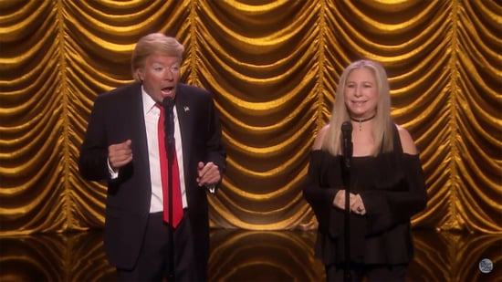 Barbra Streisand Sings a Duet With Jimmy Fallon as Donald Trump on the 'Tonight Show': Watch!