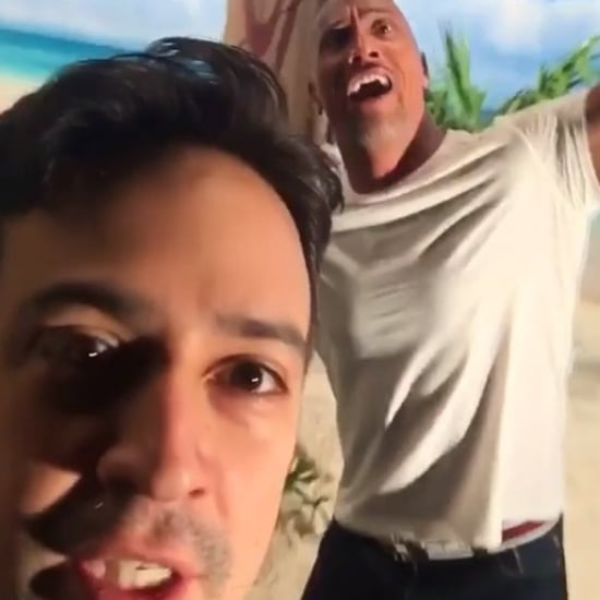 "Dwayne Johnson and Lin-Manuel Miranda Sing Disney's ""Gaston"""