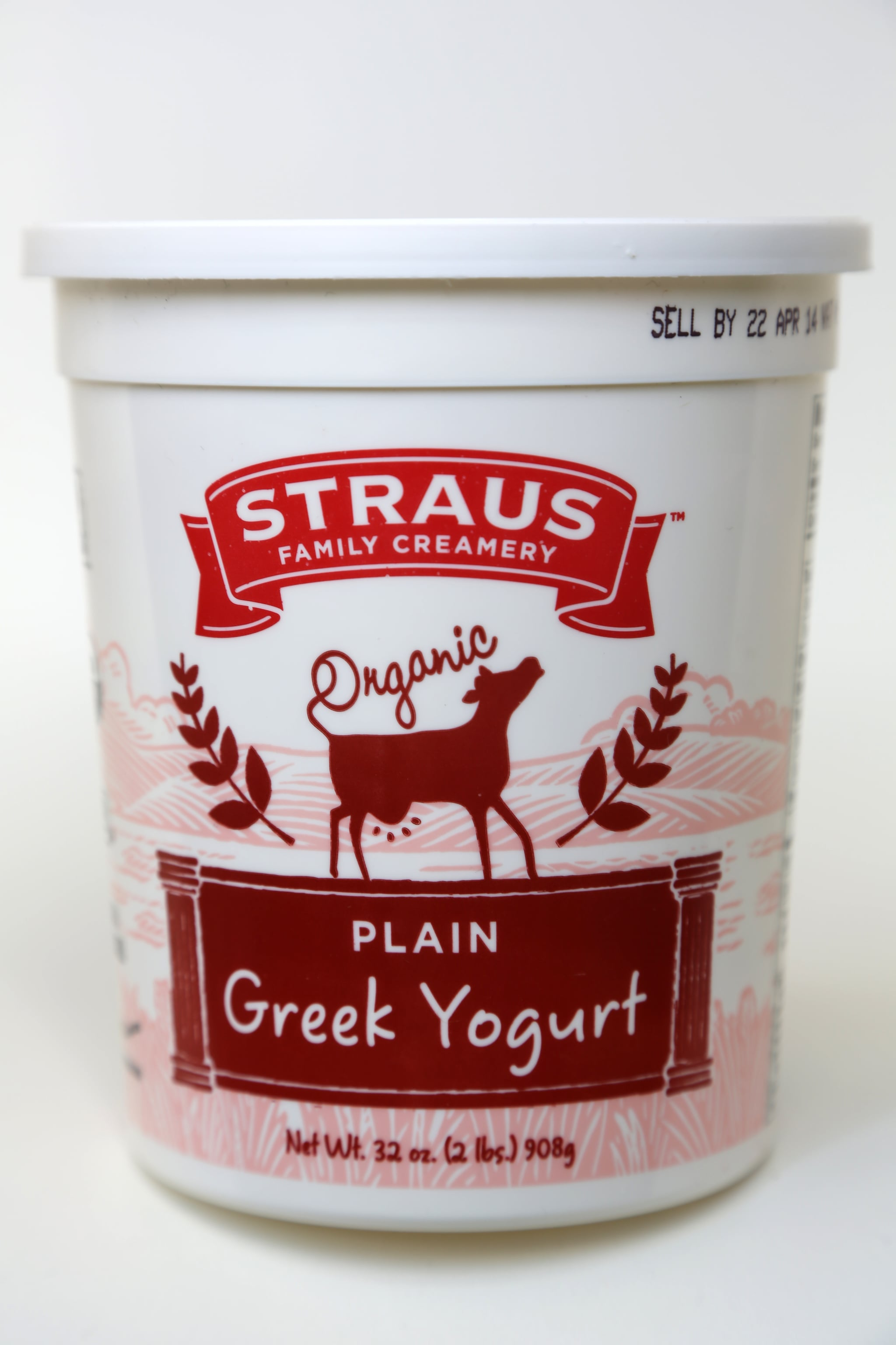 Straus Organic Plain Greek Yogurt