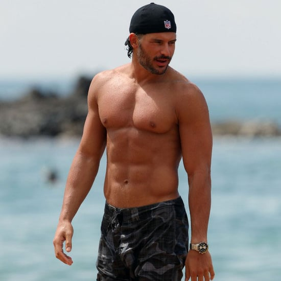 Joe Manganiello Shirtless at the Beach in Hawaii Pictures