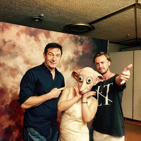 Jason Isaacs and Tom Felton Reunion